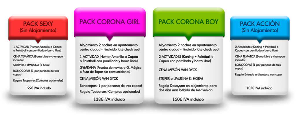 packs  1024x399 - Monta Tu Mítica Despedida en Salamanca