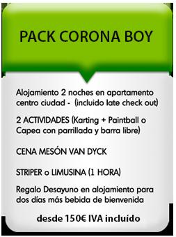 tumiticadespedida pack corona boy 2 - Despedidas de soltero y soltera en Salamanca